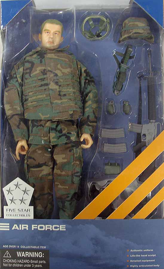 Five Star Air Force - Boxed Figure **DAMAGED BOX**