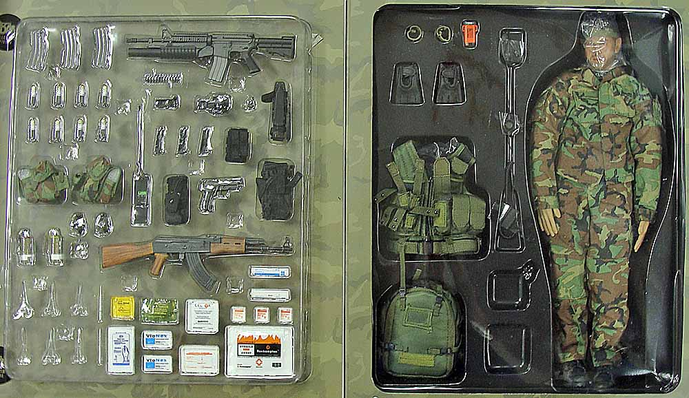 Navy Seal Reconteam Corpsman Boxed Figure