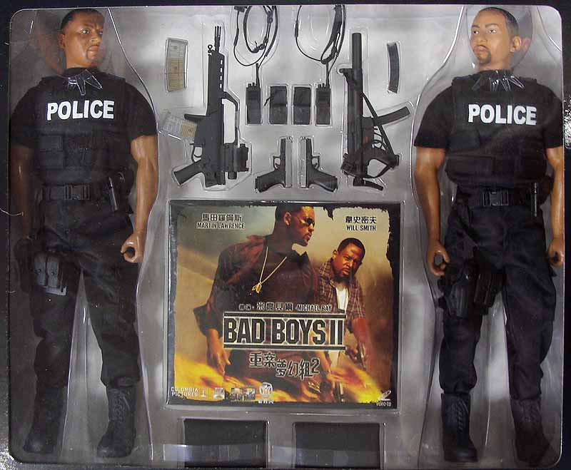 Bad Boy Toys : Bad boys ii boxed figure pair