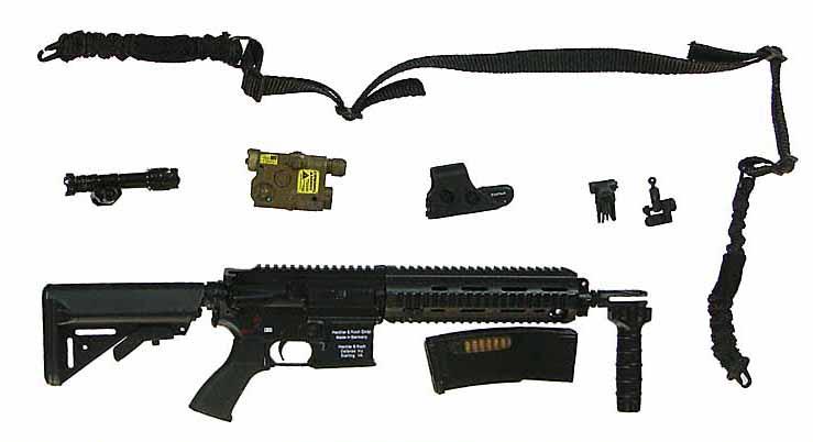 1st SFOD-D CAG (Combat Applications Group) - Machine Gun w