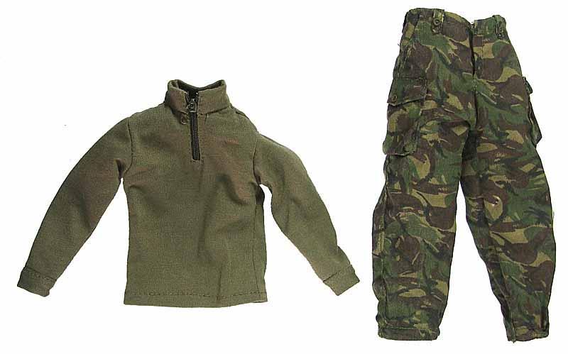 Robert Hughman: Falklands War - Uniform