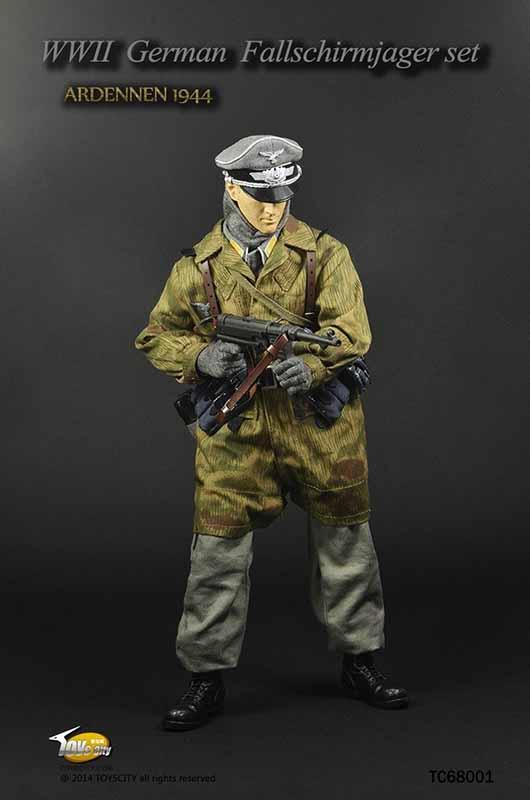 Tct68001 Wwii German Fallschirmjager Officer Accessory Set