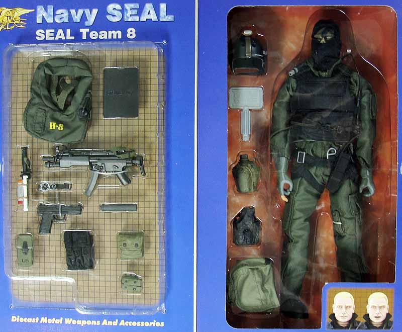 Shark: Navy SEAL Team 8 - Boxed Figure