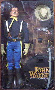 John Wayne Cavalry Officer Boxed Figure
