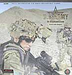 US Army in Afghanistan M249 SAW Gunner